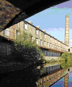 Slaters Terrace, Weavers' Triangle, Burnley