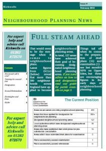 Kirkwells' Neighbourhood Planning News Issue 9 February 2013 Cover