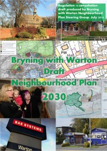 Bryning with Warton Neighbourhood Plan Front Cover