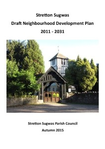 Stretton Sugwas Draft Plan Cover